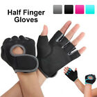 Work Out Half Finger Gloves Women Men Weight Lifting Gym Sport Exercise Training