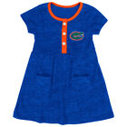 Florida Gators Colosseum Infant Girls Triple Jump Blue 3 Button Dress
