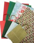 Внешний вид - CHRISTMAS XMAS GIFT BAGS WITH PATTERNED TISSUE gift WRAPPING SHEETS 35x45cm