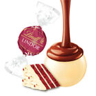 Image of Lindt Lindor RED VELVET WHITE CHOCOLATE TRUFFLES Valentines day gift present