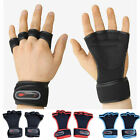 Fitness Gloves Weight Lifting Sport Gym Work Training Wrist Wrap Strap Workout