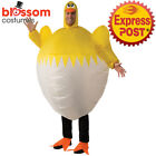 CA573 Chicken Farm Animal Inflatable Adult Costume Novelty Stag Funny Blow Up