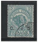 Somalia - 1907, 5c on 2b stamp - F/U - SG 11