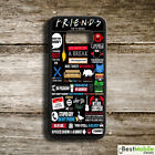 Friends TV Show Sitcom Funny Quotes Case Cover for Galaxy S8 S8+ S7 Note 8 7