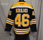 Mens Reebok NHL Boston Bruins David Krejci Hockey Jersey NWT 170 L XL