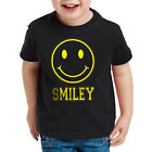 Smiley Face Kinder T-Shirt Emoji Kostüm Fasching Gamer sms gesicht icon chat mms
