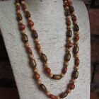 """Wholesale 4 - 8 - 12 Wooden Beads Necklaces Double Row Supper Long 48"""" (120cm)"""
