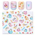Einhorn Traumfänger 3D Nagel Aufkleber Nail Art Maniküre Transfer Stickers Decal