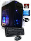 Custom Built Quad-Core 4.0Gz 2TB Fast AMD Radeon HDMI Gaming Desktop PC Computer