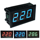 3 Color Option Voltmeter DC5V-120V LED Panel Digital Display Voltage Meter head