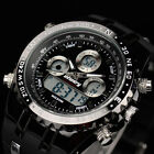 INFANTRY Men's LED Digital Quartz Wrist Watch Chronograph Sport Army Cool Rubber image