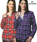 NEW WOMEN'S BC CLOTHING FAUX FUR LINED FLANNEL JACKET FLANNEL SHIRT! VARIETY
