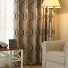 Thick Luxury Wavy Striped Curtain Design for Living Room Bedroom Home Decoration