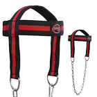 Head Harness Chain Heavy Lifting Weight Neck Training Gym Sessions