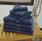 Smart Navy Blue Bobble Quality Cotton Towels Face Hand Bath Towel & Bath Sheet