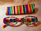 Colorful  STRIPED READING GLASSES  #R1071