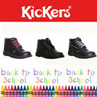 Kickers Kick Hi Mens Boys School Boots Leather UK Size 6 7 8 9 10 11