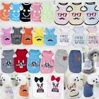 Summer Apparel Cute Lovely Small Dog Puppy Vest T-Shirt Coat Pet Clothes Costume