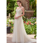New Sweetheart  Lace Appliques  Wedding Dress White/Ivory dress Custom made