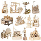 Timberkits Mechanical Wooden Model Construction Kits - Choose