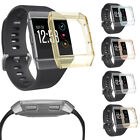 For Fitbit Ionic Protector Skin Case Rugged Armor Transparent TPU Shell Cover