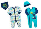 Dinosaur Design Sleepsuit Babygrow All In One Romper Bandana Bib Or  Cradle Cap