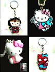 HELLO KITTY ACRYLIC KEYRING OR NECKLACE PENDANT