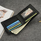 Mens Vintage Style Leather Credit/ID Card Wallet Coin Purse Bifold Wallet