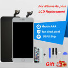 For iPhone 6s Plus A1634 A1687 A1699 LCD Touch Screen Replacement+ Button+Camera