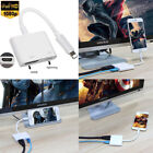 1080P 8 Pin to Digital AV Adapter HDMI Cable For iPhone X 8 7 6S 6 iPad Pro