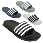 Mens Sports Summer Punched Slider Slipper Flip Flops Sandals Size 7 8 9 10 11 12