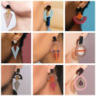 1 Pair Women Hook Stud Ear Drop Dangle Acrylic Earrings Lady Fashion Jewelry