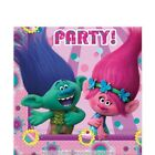 Dreamworks Trolls 2ply paper Party Birthday Napkins Tableware Disposable food