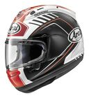 Arai Corsair-X Rea Full Face Motorcycle Helmet Black/White/Red Adult All Sizes
