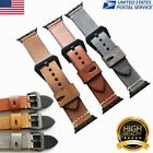 Genuine Leather Watch Band Wrist Strap For Apple Watch iWatch Series 1 2 38/42mm image