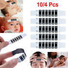Set of 10/4 Infant Baby Forehead Strip Head Temperature Test Thermometer Sticker