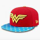 New Era Women's Wonder Woman DC Comics Red Blue Yellow 59FIFTY™ Fitted Cap Hat