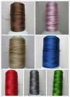 10M - 50M 0.7mm Nylon Cotton Cord String Thread Jewellery Making Choose Col