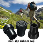 19mm 22mm Rubber Pad Cap Antiskid For Walking Stick Crutch Cane Bottom Protector