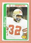 1978 Topps Football Singles #'s 265 - 528 Pick 1 Card from List EXC-NRMT $1.0 USD