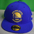 New Era 59Fifty NBA Golden State Warriors Fitted Hat Cap New 7 1/8, 7 3/8, 7 5/8