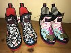 JOULES Wellies Wellibobs Floral Patterns Sz 4 5 RRP£36.95 FreeUKP&P