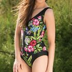 Pour Moi? Womens Summertime Control swimsuit PM-1476 Black Many Sizes