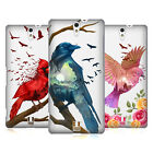 HEAD CASE DESIGNS COLOURFUL BIRDS HARD BACK CASE FOR SONY PHONES 2