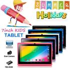 "7"" Google Android Tablet 16GB Dual Camera Wifi Children PC Tablet for Kids Gift"