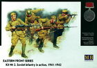 Master Box Mb3523 - 1/35 Soviet Infantry In Action 1941-1942 Eastern Front Serie
