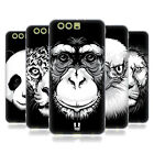HEAD CASE DESIGNS BIG FACE ILLUSTRATED SOFT GEL CASE FOR HUAWEI PHONES