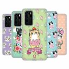 HEAD CASE DESIGNS WHIMSICAL KITTENS SOFT GEL CASE FOR HUAWEI PHONES