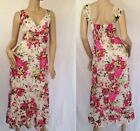 Kaleidoscope~ Floral Tiered Maxi Chiffon Dress -Sizes 10~12~20 ~rrp £45~ (R9)