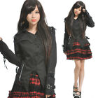 GLP LOLITA GOTHIC LACE SHIRT CUTE PUNK 71233 BLACK XL